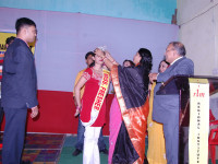 The Crowning of Miss Fresher