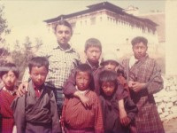 The Founder's love for the poor in Thimphu, Bhutan